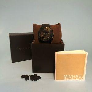 Michael Kors unisex MK5512 watch (Ø 39 mm) BLACK